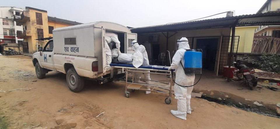 1,095 fresh Covid-19 cases, eight deaths recorded in the 24 hours » Meroshare